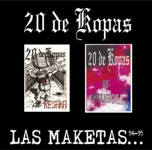 Maquetas 20 de Kopas remasterizadas